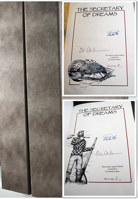 "Stephen King ""Secretary of Dreams"" Signed Lettered Deluxe Edition, 2 Vol. Matched Set, Artist Remarqued w/Traycase [Very Fine]"