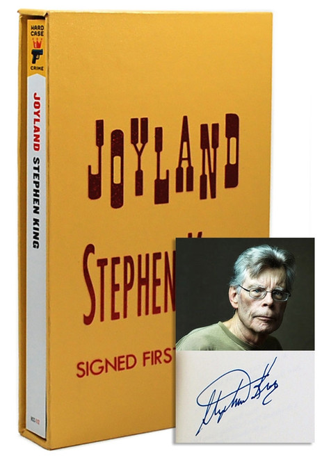 "Stephen King ""Joyland"" Softcover Signed First Edition, Slipcased w/COA [Fine/Fine]"