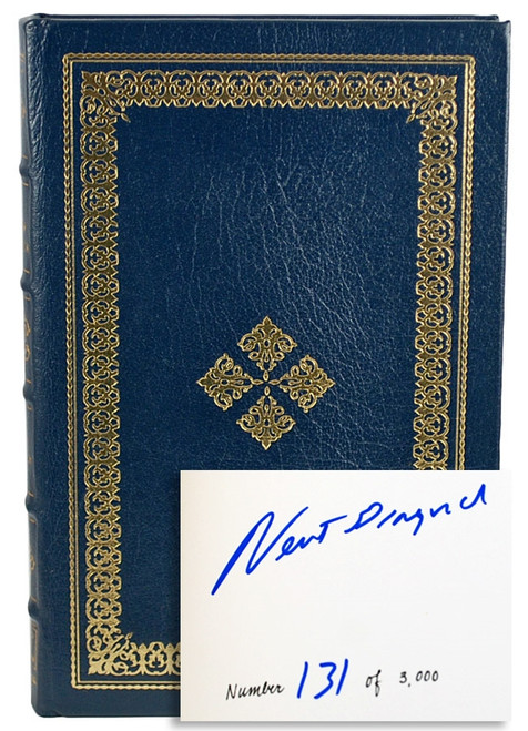 "Easton Press, Newt Gingrich ""To Renew America"" Signed First Edition"
