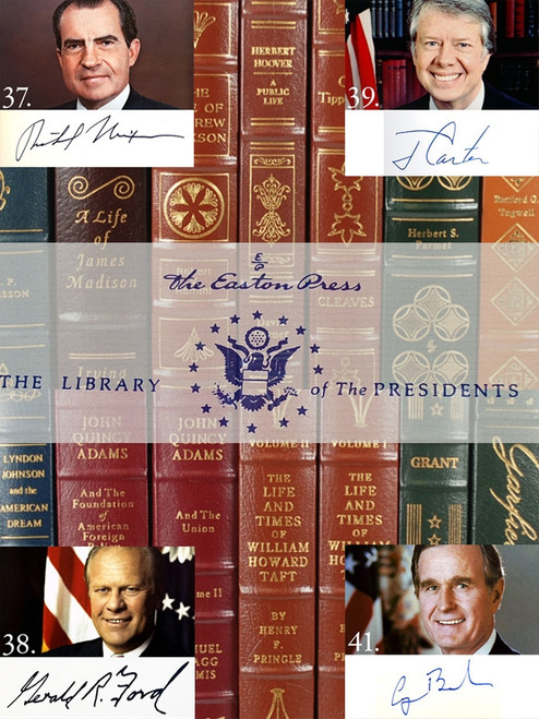 Easton Press, The Complete Library of the Presidents, Complete in 82 Vols. [Very Fine]