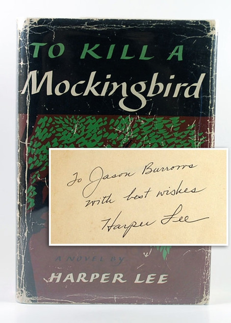 "Harper Lee ""To Kill A Mockingbird"" Signed First Edition"