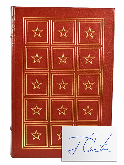"Easton Press 1982 -  Jimmy Carter  ""Keeping Faith"" Signed Limited Edition [Very Fine]"