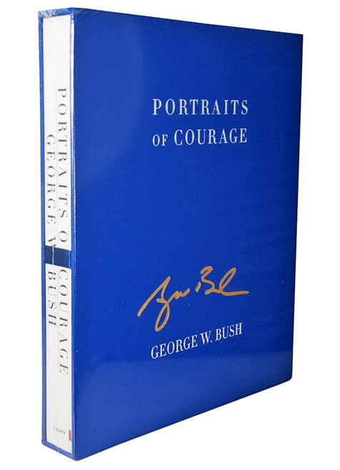 "George W. Bush ""Portraits of Courage"" Signed Limited Deluxe Edition [Sealed]"