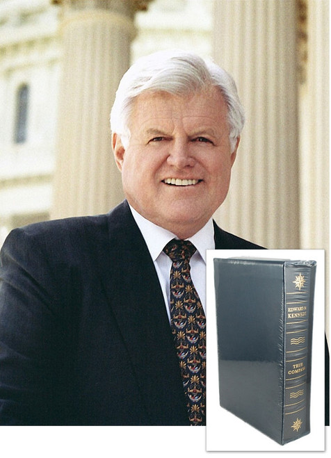 "Edward Kennedy ""True Compass: A Memoir""  Signed Limited Leather Bound Collector's Edition, Slipcased [Very Fine/Sealed]"