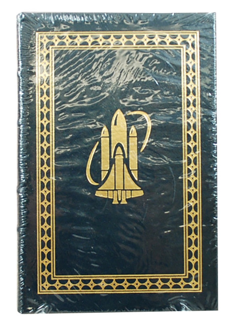 "Easton Press, Mike Mullane ""Riding Rockets"" Signed Limited Edition,  Leather Bound Collector's Edition [Sealed]"