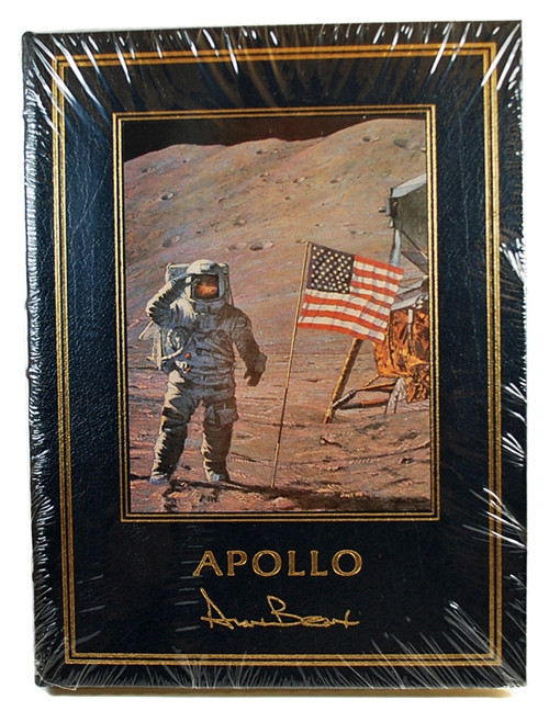 "Easton Press, Alan Bean ""Apollo"" Signed Limited Edition"