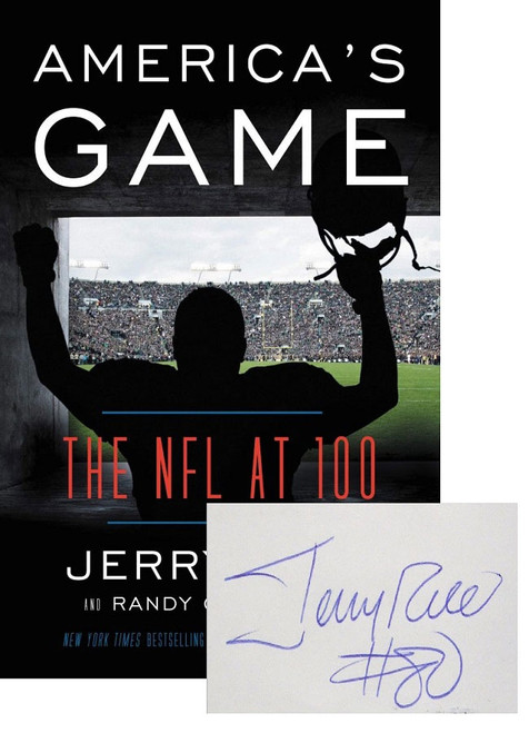 "Jerry Rice, ""America's Game"" Signed First Edition , Slipcased Edition w/COA [Very Fine]"