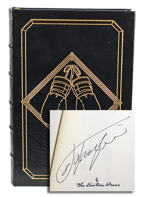 "Easton Press, Joe Frazier, ""Smokin' Joe"" Signed Limited Edition, Leather Bound [Very Fine]"