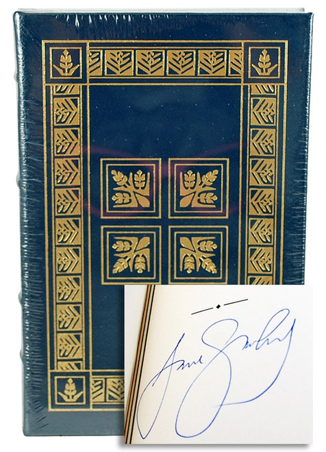 Easton Press Jane Smiley A Thousand Acres Signed Limited Edition Leather Bound Book