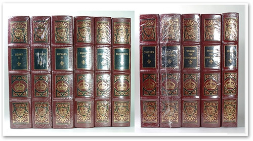 Easton Press Kings Queens England Leather Bound