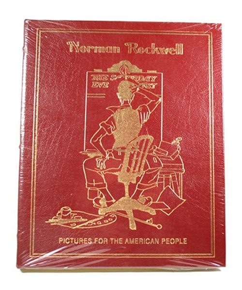 "Easton Press ""Norman Rockwell: Pictures for the American People"" Leather Bound (Sealed)"