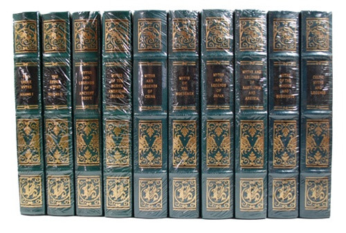 Easton Press Myths Ancient World Leather Bound Books