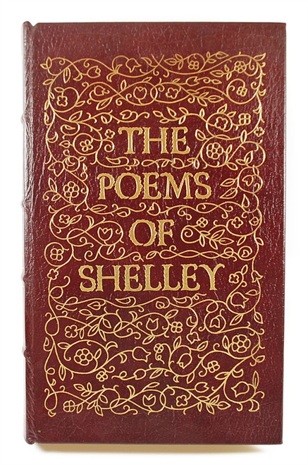 """Easton Press, Percy Bysshe Shelley """"The Poems of Shelley"""" Leather Bound Collector's Edition"""