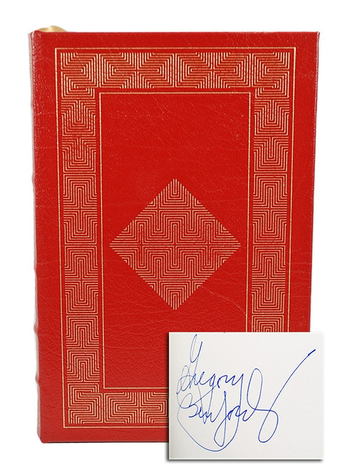 Easton Press Gregory Benford The Martian Race Signed Limited Edition Leather Bound Book