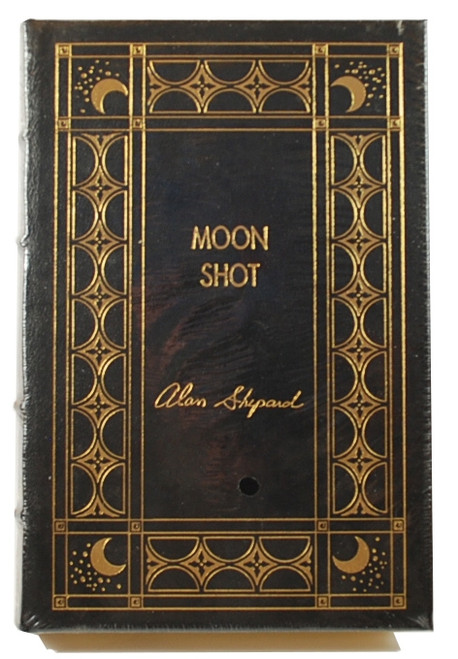 "Easton Press ""Moon Shot"" Alan Shepard Signed Limited Edition"