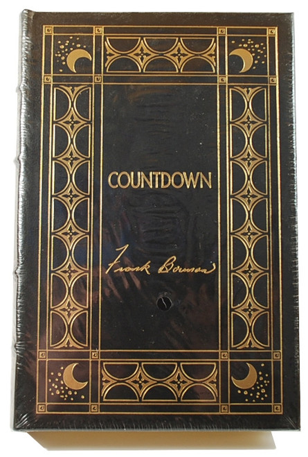 "Easton Press ""Countdown"" Frank Borman, Signed Limited Edition Leather [Sealed]"