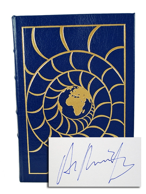 "Easton Press, Alastair Reynolds ""Century Rain"" Signed First Edition, Leather Bound Collector's Edition w/COA"
