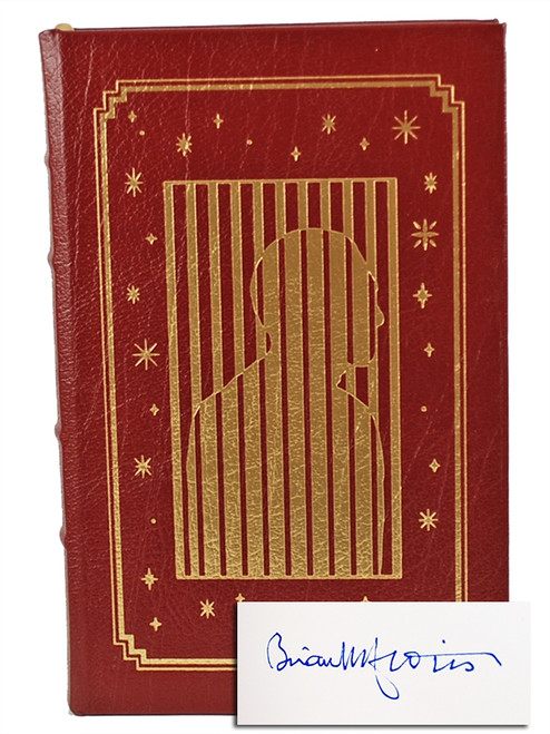 "Easton Press, Brian W. Aldiss  ""Harm"" Signed First Edition, Leather Bound Collector's Edition"