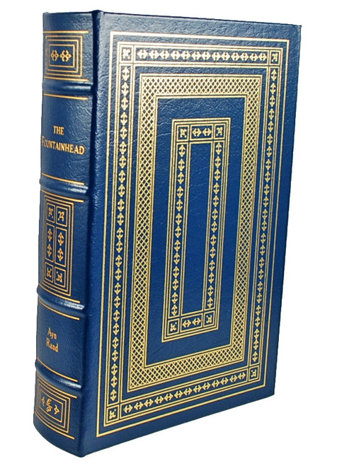 "Ayn Rand ""The Fountainhead"" Leather Bound Collector's Edition [Very Fine]"