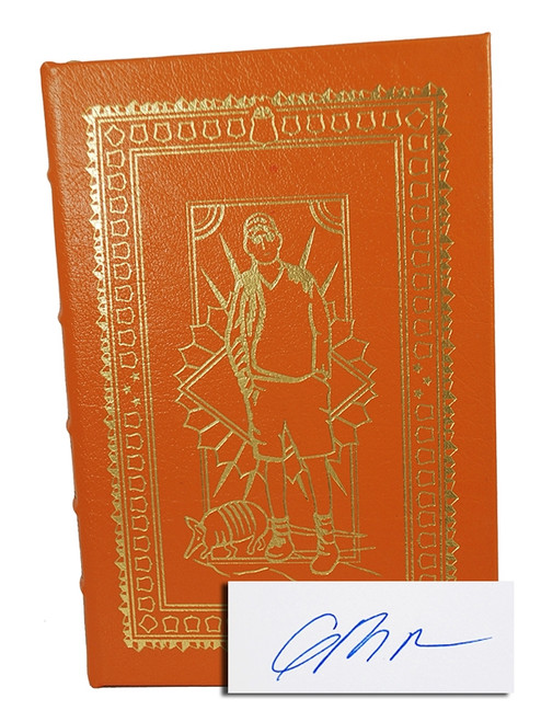 "Easton Press, Greg Bear ""Mariposa"" Signed First Edition, Leather Bound Collector's Edition w/COA"