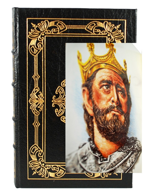 """Easton Press, Harold Lamb """"Charlemagne: The Legend and The Man"""" Leather Bound Collector's Edition [Very Fine]"""