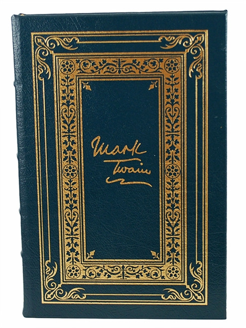"Easton Press ""Pudd'nhead Wilson"" Mark Twain, Limited Edition Leather Bound [Very Fine]"