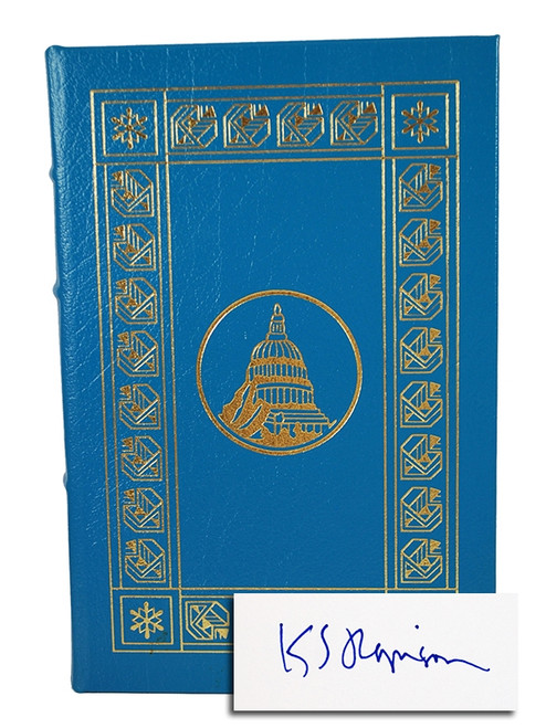 """Easton Press, Kim Robinson """"Fifty Degrees Below"""" Leather Bound Collector's Edition"""