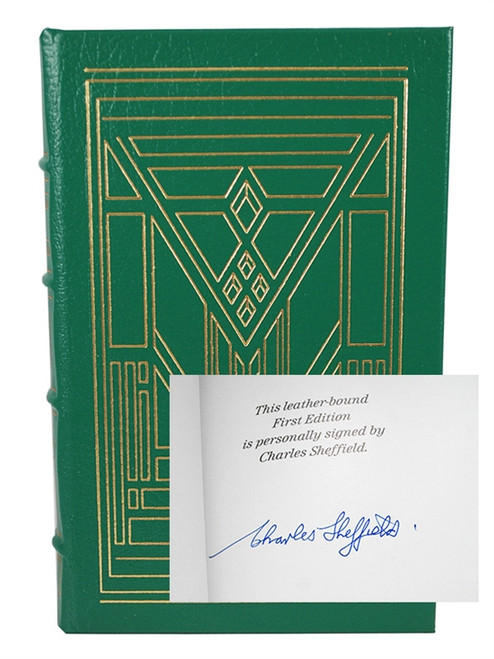 "Easton Press ""Tomorrow And Tomorrow"" Charles Sheffield, Signed First Edition [Very Fine]"