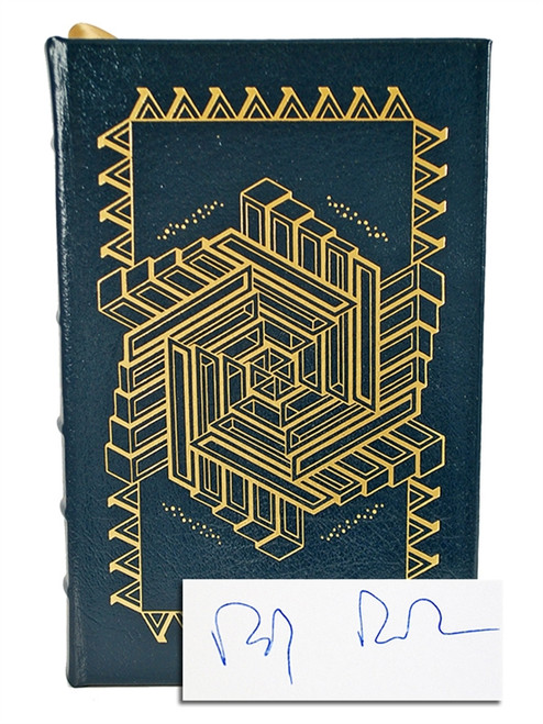 "Easton Press ""Hylozoic"" Rudy Rucker, Signed First Limited Edition w/COA, Leather Bound [Very Fine]"