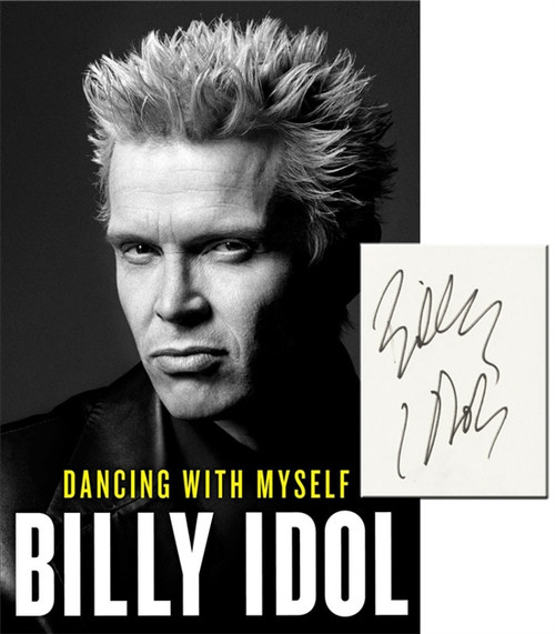"Billy Idol ""Dancing With Myself"" Signed First Edition dj/HC [Very Fine/Very Fine]"
