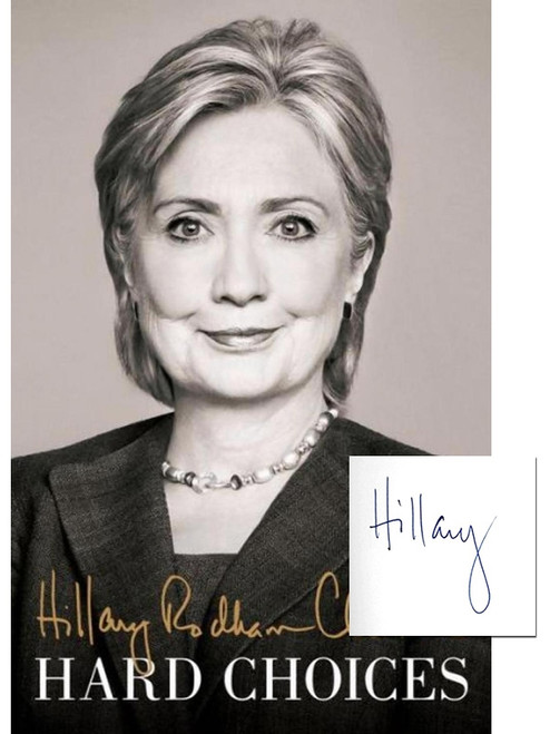 "Hillary Clinton ""Hard Choices"" Signed Limited First Edition, Leather Bound Gift Box w/COA"