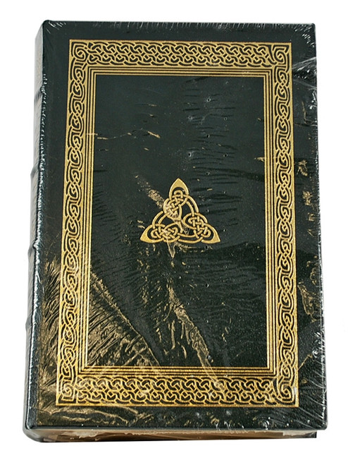 "Easton Press ""Trinity"" Leon Uris, Signed Limited Edition (Very Fine) Collector's Notes w/COA"