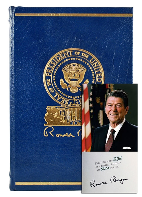 "Easton Press, Ronald Reagan ""Speaking My Mind"" Signed Limited First Edition (Very Fine)"