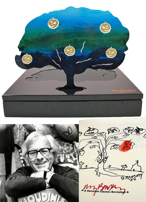 "Ray Bradbury ""The Halloween Tree"" Deluxe Signed Lettered Edition ""HH"" of 52 in tray-case [Very Fine]"