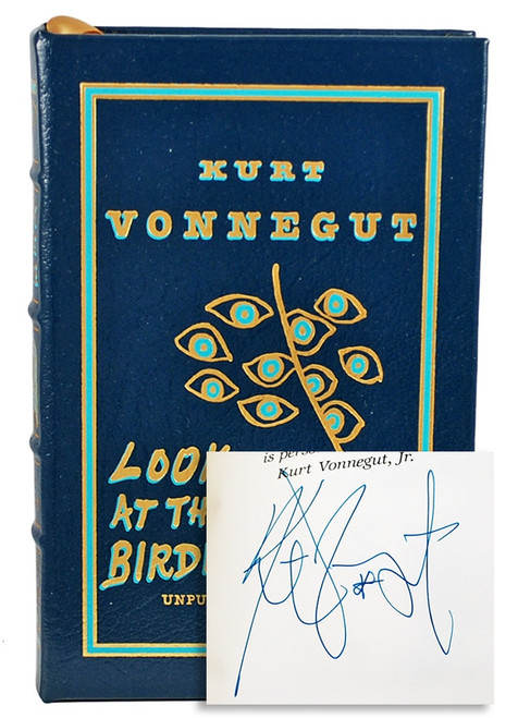 "Easton Press Vonnegut ""Look at the Birdie"" Easton Press leather bound"