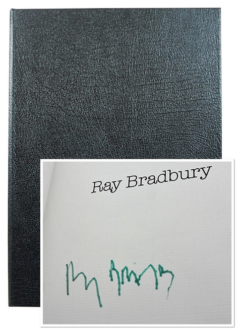 """Ray Bradbury """"The Fall Of The House of Usher, Usher II"""" Deluxe Signed Lettered Edition, """"M"""" of 52 in tray-case [Very Fine]"""