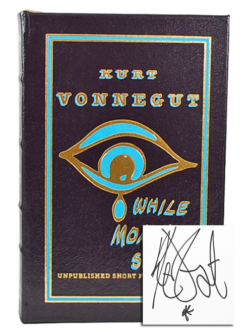 "Easton Press, Kurt Vonnegut ""While Mortals Sleep"" Signed First Edition (Sealed)"