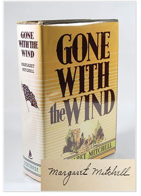 Margaret Mitchell Gone With the Wind Signed First Edition
