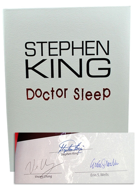 "Stephen King ""Doctor Sleep"" Signed First Edition, First Printing, dj/HC (Very Fine/Very Fine)"