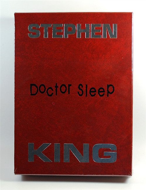 "Stephen King ""Doctor Sleep"" Limited Deluxe Gift Edition of only 1,750 Slipcased  [Sealed]"