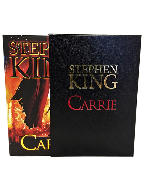 "Stephen King ""Carrie"" Deluxe Limited Gift Edition, Slipcased [Sealed]"