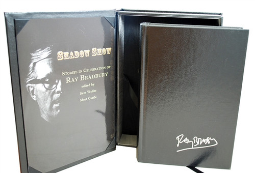 "Ray Bradbury ""Shadow Show"" Deluxe Signed Lettered Edition, ""Y"" in tray-case [Very Fine]"