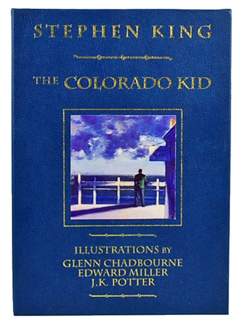 "Stephen King ""The Colorado Kid"" Signed Lettered Edition #17 of only 33, Leather Bound"