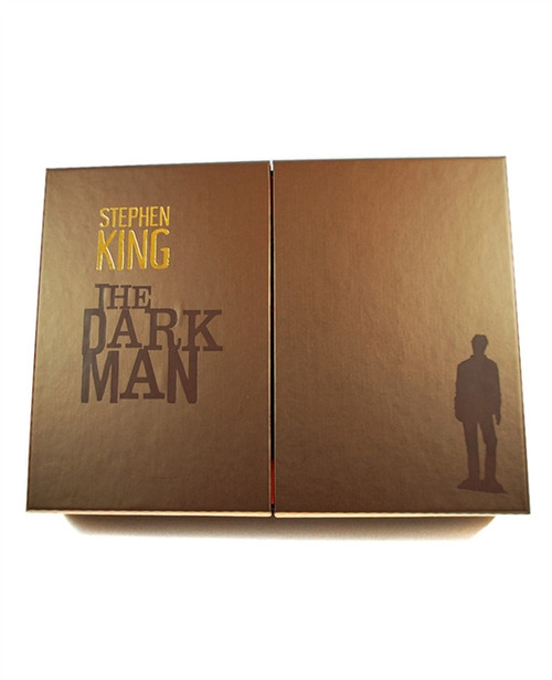 "Stephen King ""The Dark Man"" Signed Lettered Edition QQ of only 52 w/Deluxe Tray-Case (As New)"