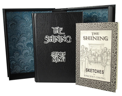 "Stephen King ""The Shining"" Signed Lettered Edition ""PP"" of only 52 Limited w/Traycase, Sketches"