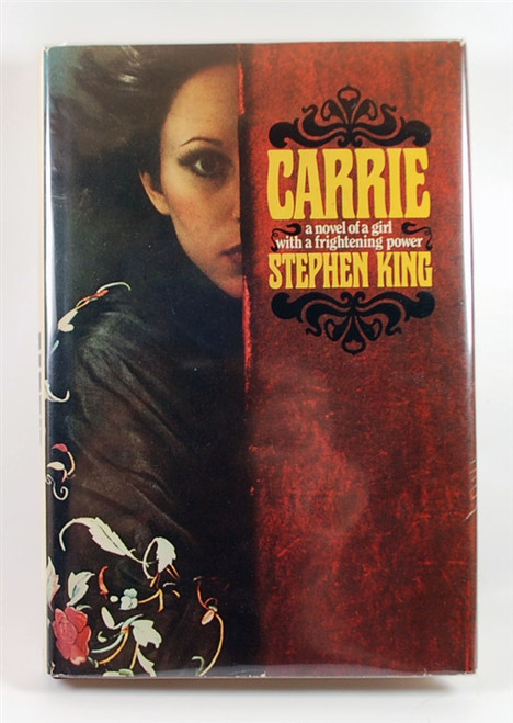 "Stephen King ""Carrie"" First Edition, First Printing (Fine/Near Fine) w/Leather Bound Case"