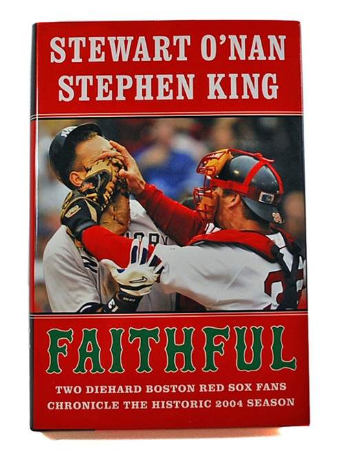 "Stephen King, Stewart O'Nan ""Faithful"" Signed First Edition 1st/1st [Fine/Fine]"