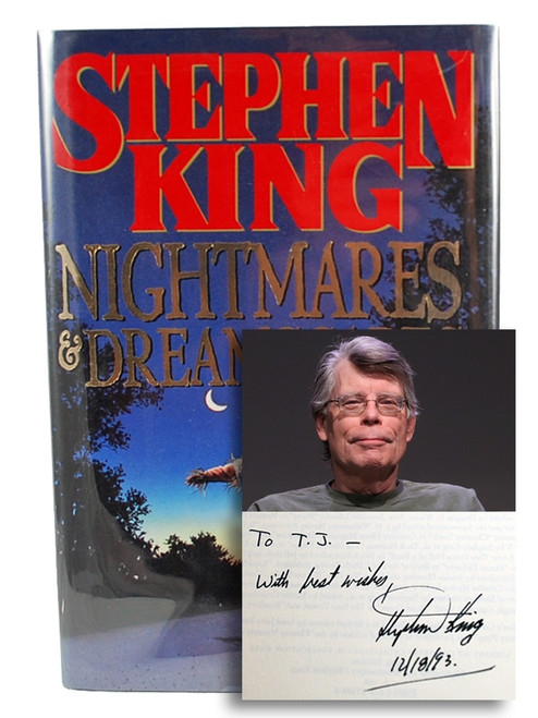 "Stephen King ""Nightmares & Dreamscapes"" Signed First Edition, First Printing [Fine/Fine]"