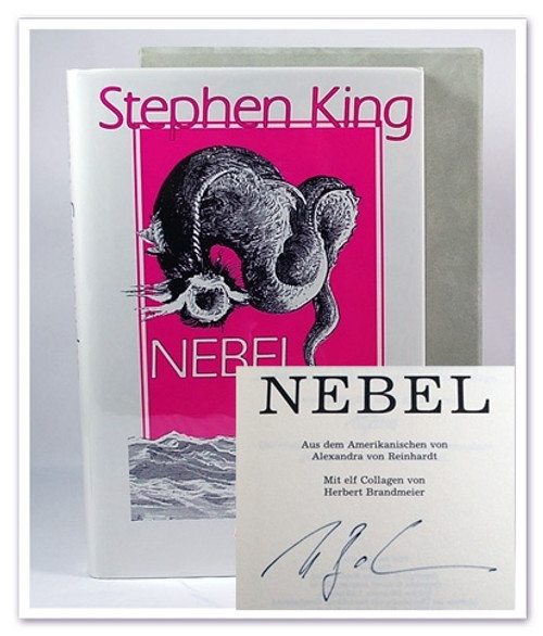 "Stephen King ""Nebel"" (The Mist) German, Signed Limited Edition #107/500 (Very Fine)"