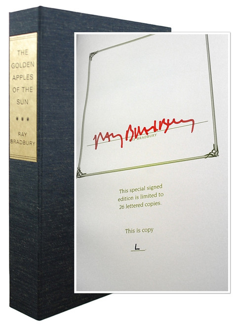 "Ray Bradbury ""The Golden Apples of the Sun"" Deluxe Signed Lettered Edition, ""L"" in tray-case [Very Fine]"